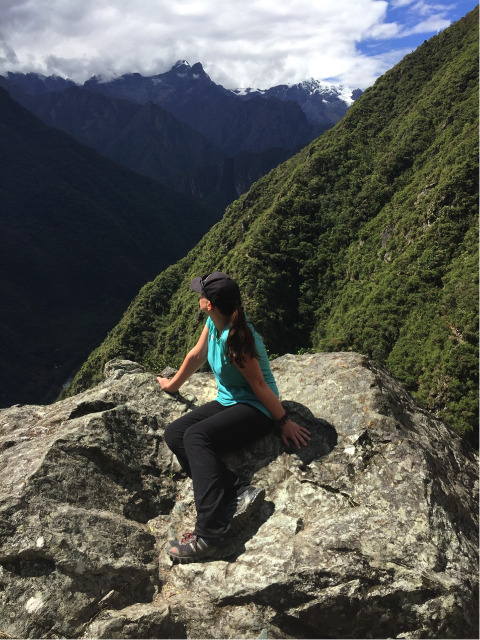 Jennifer Galuhn went hiking through the Inca Trail, leading up to Machu Picchu in Peru.