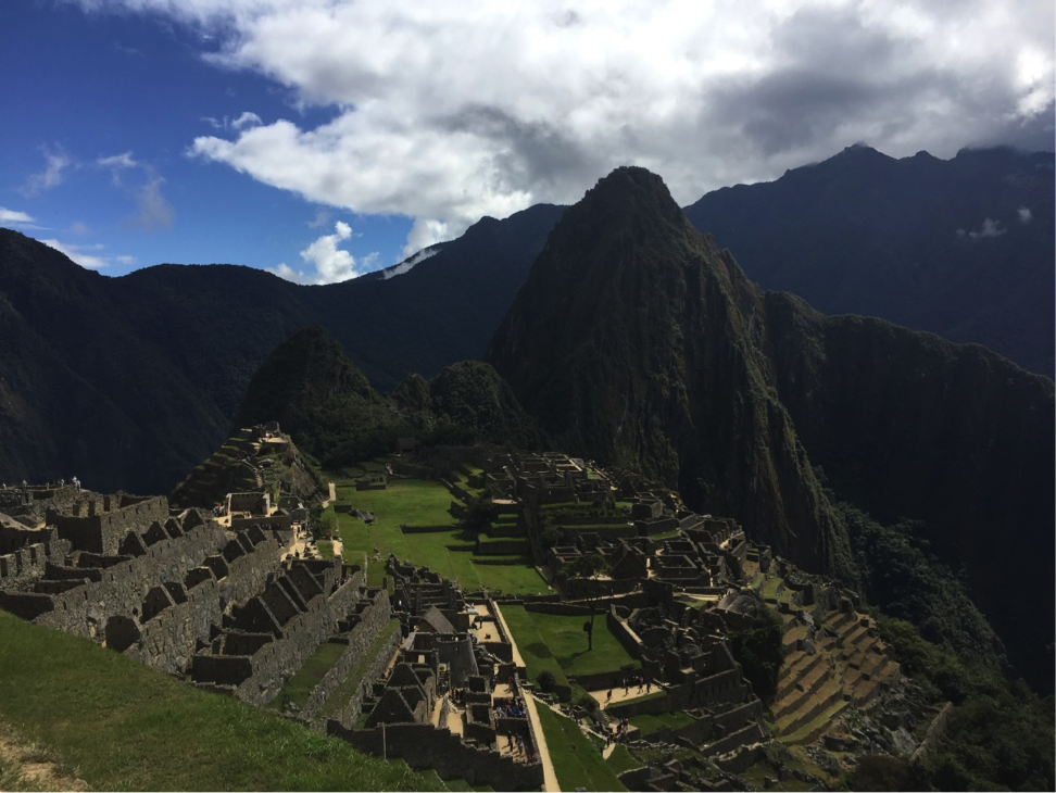 Jennifer captured the amazing architecture of the structures around Machu Picchu.