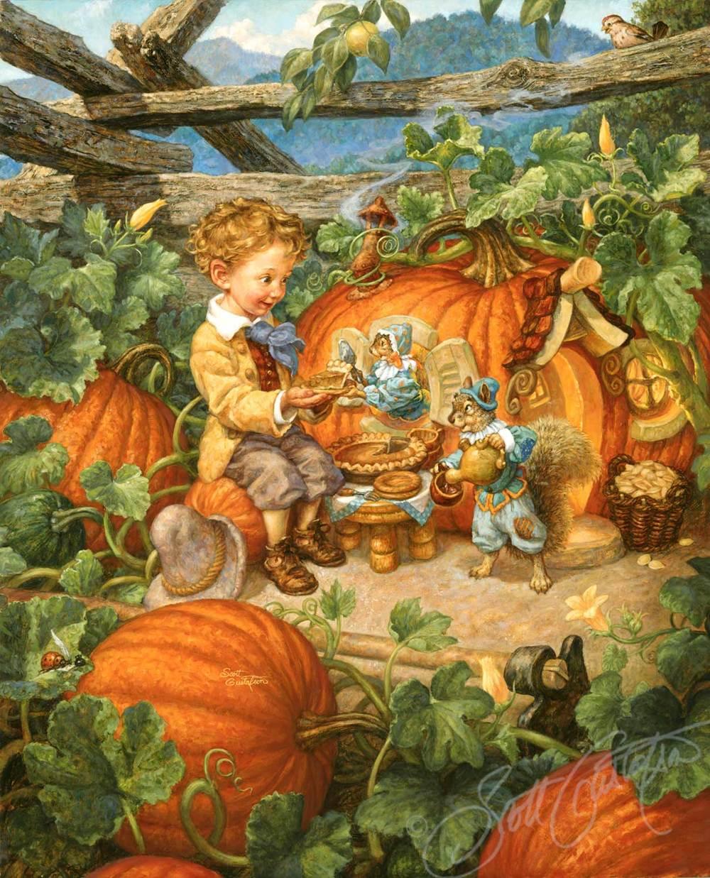 Peter Peter Pumpkin Eater — The Art of Scott Gustafson