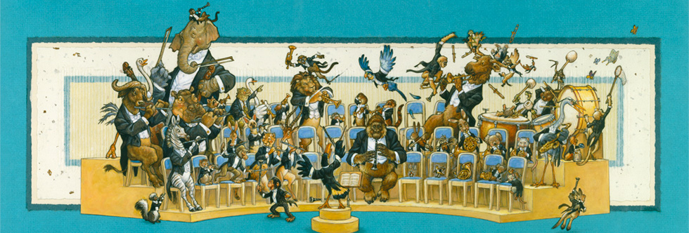 Animal Orchestra Collection The Art Of Scott Gustafson