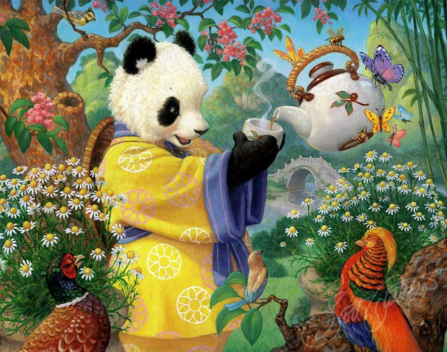 Celestial Seasonings Panda