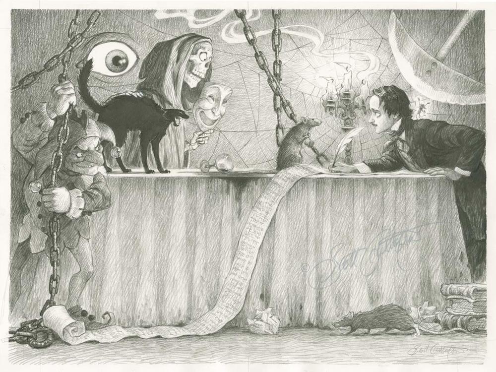 Poe's Imaginary Friends
