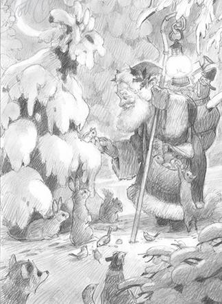 Woodland Santa - 1 NEW!