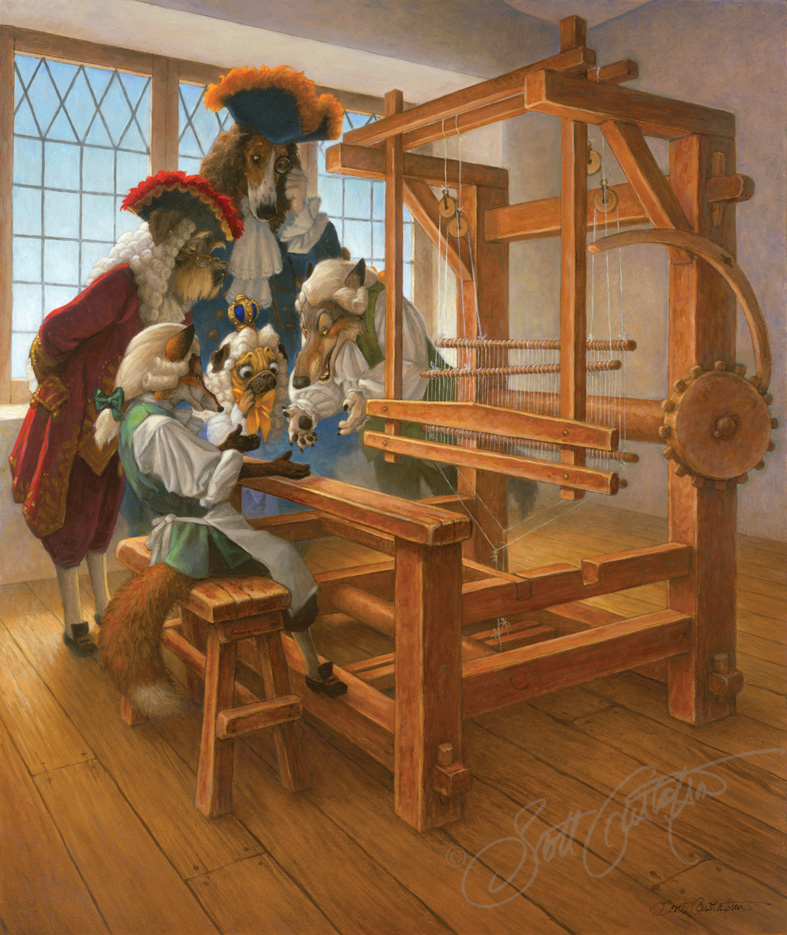 The Emperor at the Loom