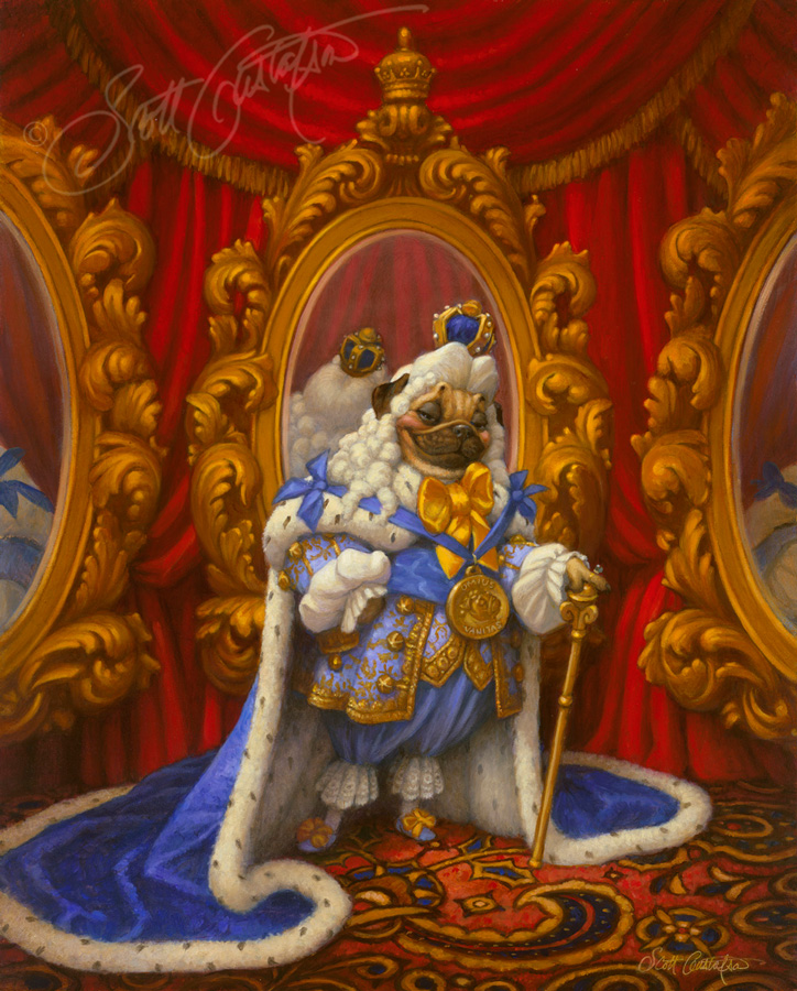 the emperor loved new clothes the art of scott gustafson