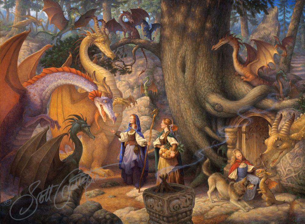 A Confabulation of Dragons