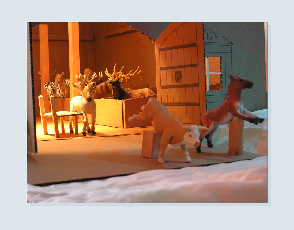 7 - Toy animals for scale and lighting