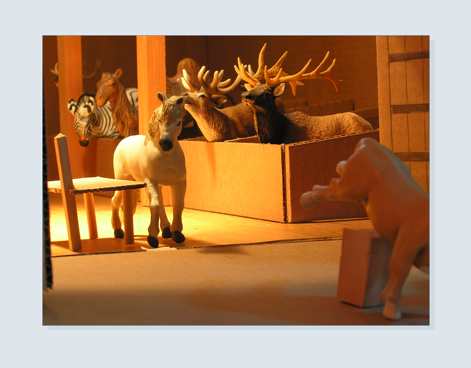 8 - Close up of toy animals