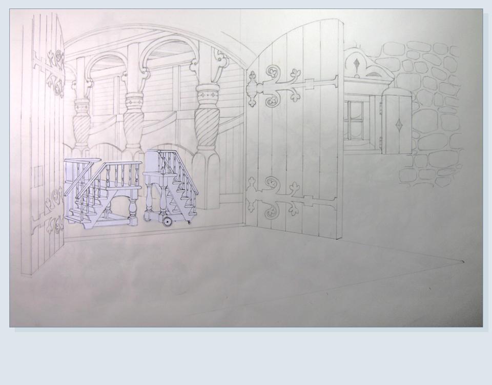 14 - Interior details in position