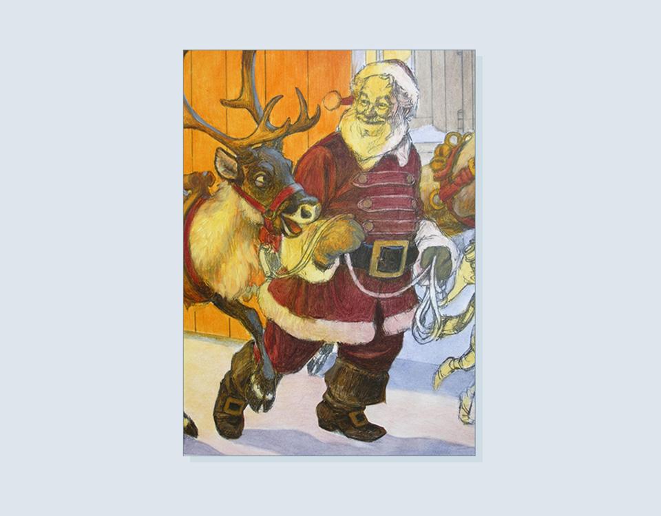 28 - Start work on Santa