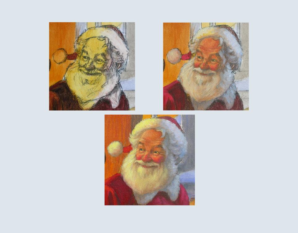36 - Santa's head progression