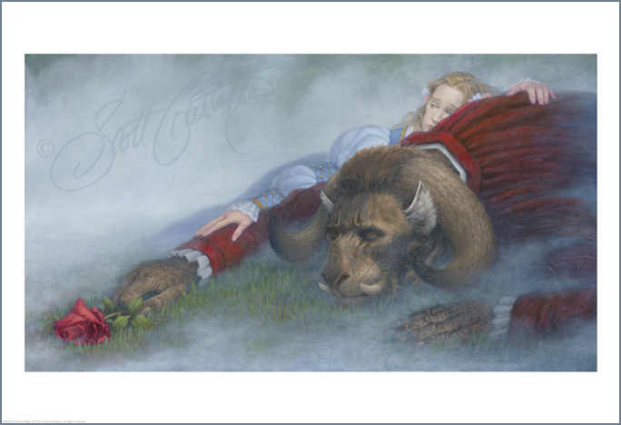 Beauty Finds the Beast Studio print -      ON SALE! Click HERE for details!