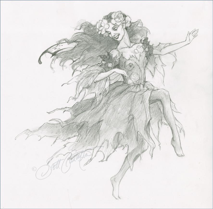 Fairy Study 5 - large