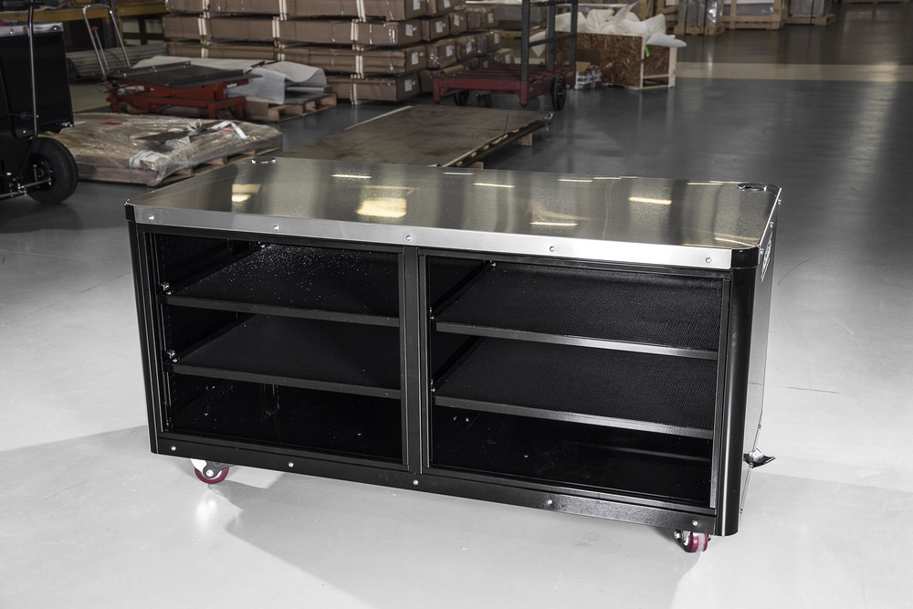Caster Cart shelves