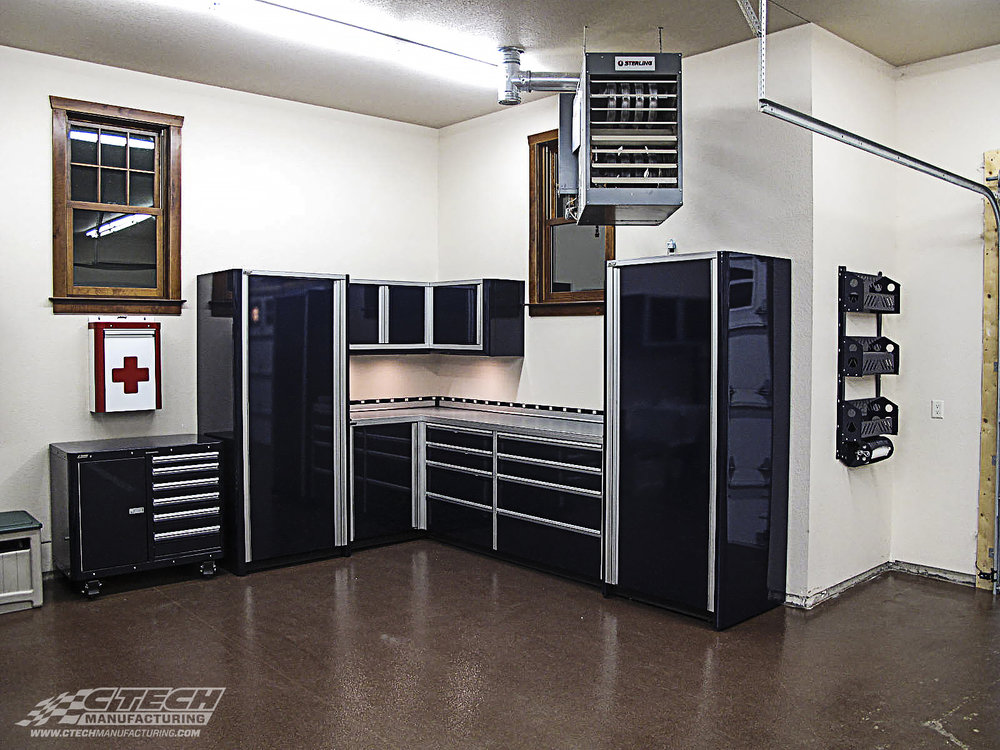 CTECH offers a wide range of storage equipment from stationary cabinet modules, small first aid cabinets, blackline accessories, caster carts, and much more! Build your workspace the way you want it!