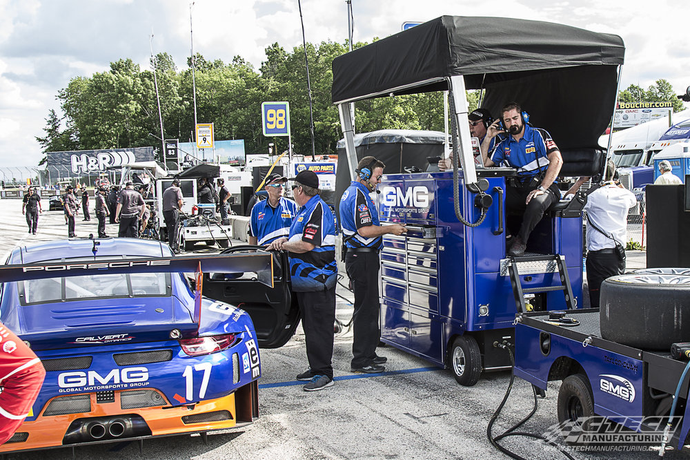 CTECH builds pit lane Premium Observation Carts for some of motorsport's most successful teams. Our engineers pack multifunctionality, mobility, accessibility, and customizability into a single package that helps support a championship-caliber effort.