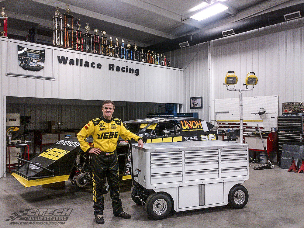 Racers of every discipline and background trust CTECH Worktop Carts to bring the functionality of a home garage to any location on the racing circuit. These carts offer dual-sided storage, nitrogen cradles, and MotionLoc Doors/Drawers standard.
