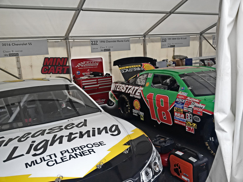 Historic NASCARs at Goodwood