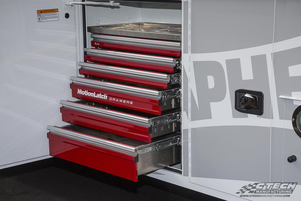 CTech is proud to have worked with Knapheide, a leader in truck body manufacturing, to develop tool drawers that provide a custom-built fit and finish minus the custom-buil price!