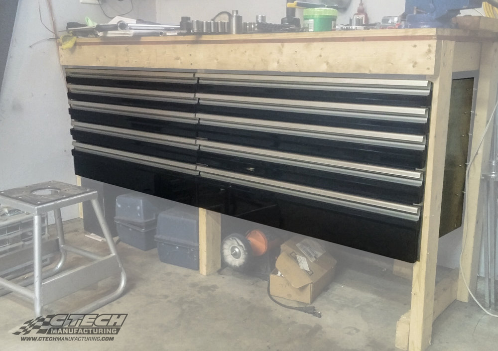With three different mounting styles, CTech drawers can go anywhere! put Motionlatch technology to work in your garage space in a little as 10 business days!