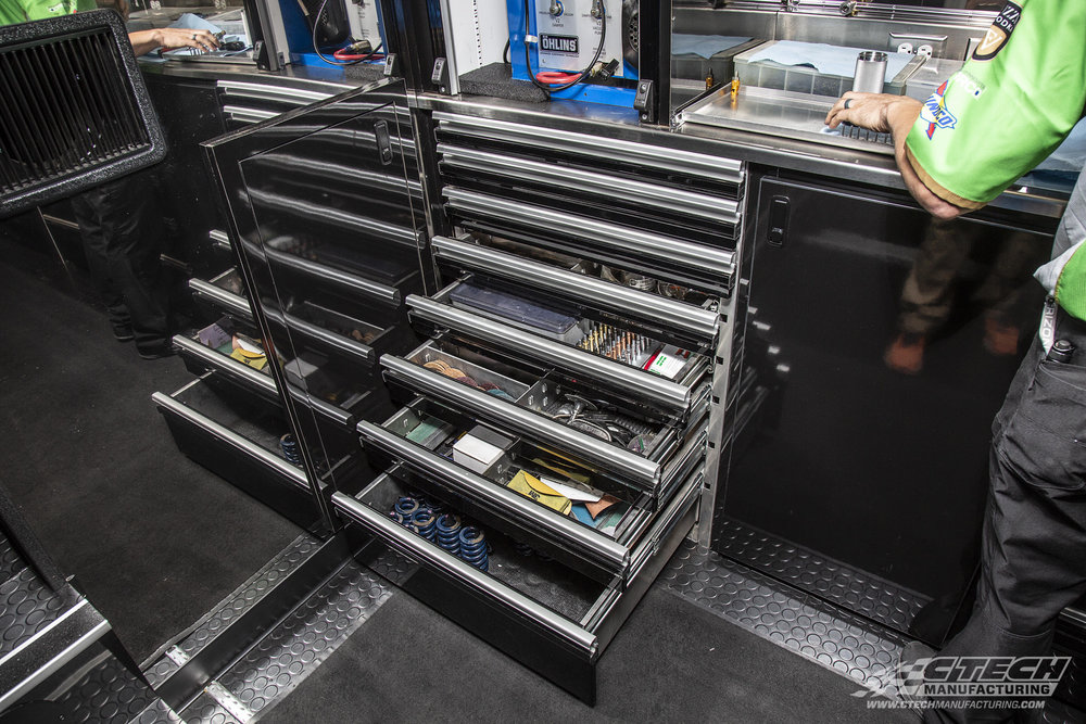 Drawers are the most efficient when everything inside of them fits just perfectly. The guys at Carpenter Racing manage to come pretty close to that line with their new CTech drawer inserts.