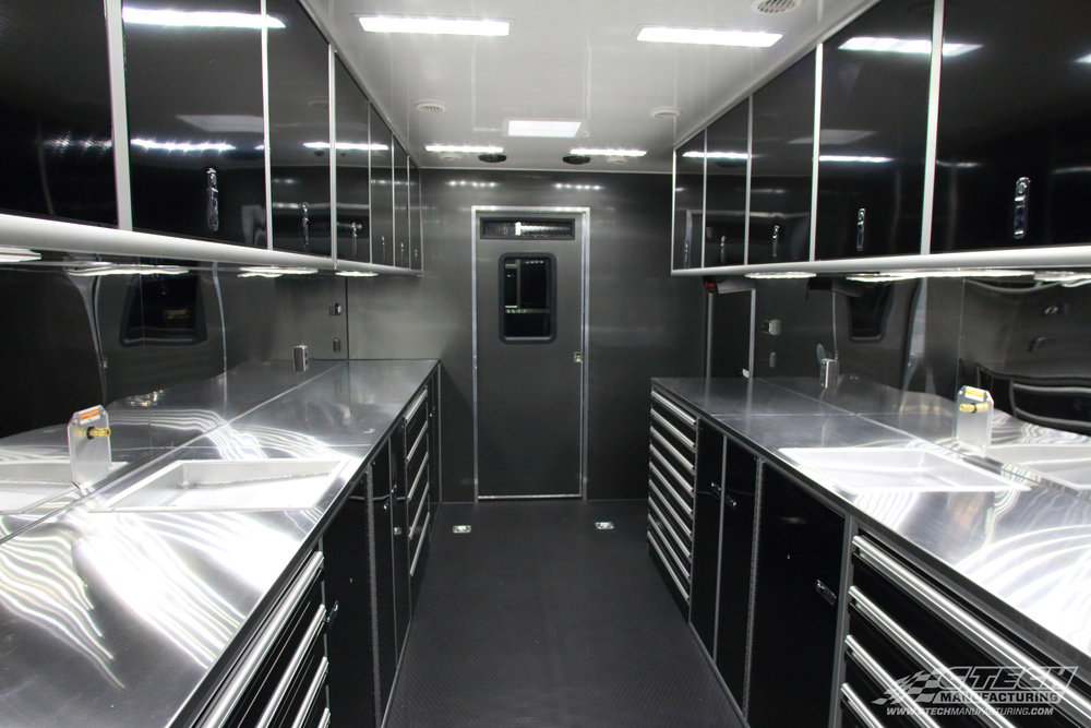 Many trailers and toterhomes are built with sub-standard cabinets. Luckily, you can fit CTech drawer inserts into just about any opening, meaning you don't have to settle for sub-part trailer storage.