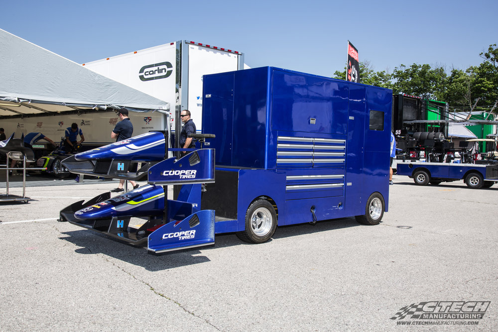 Carlin Racing Indy Lights Blue Pit Vehicle
