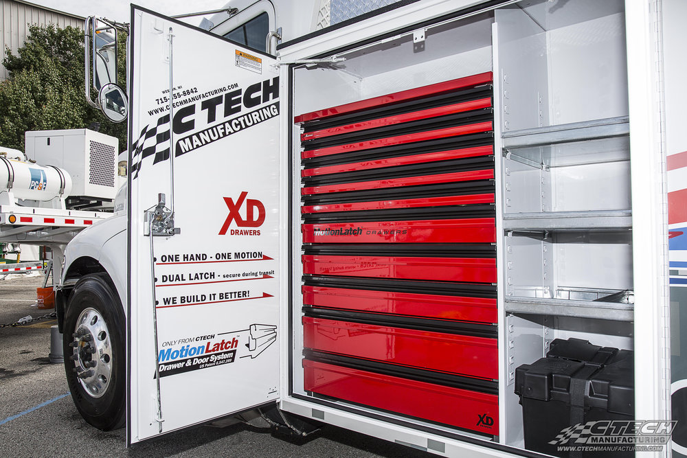 CTech Extreme Duty Vertical Compartment Drawers