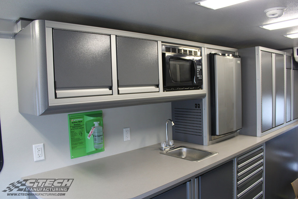 Brown Industries / Nordco Rail Service Grey Hospitality Trailer