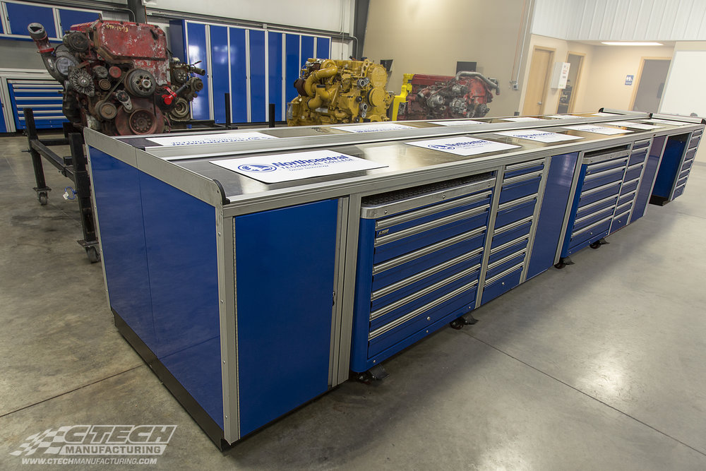 CTECH NorthCentral Technical College Workshop Counters and Caste