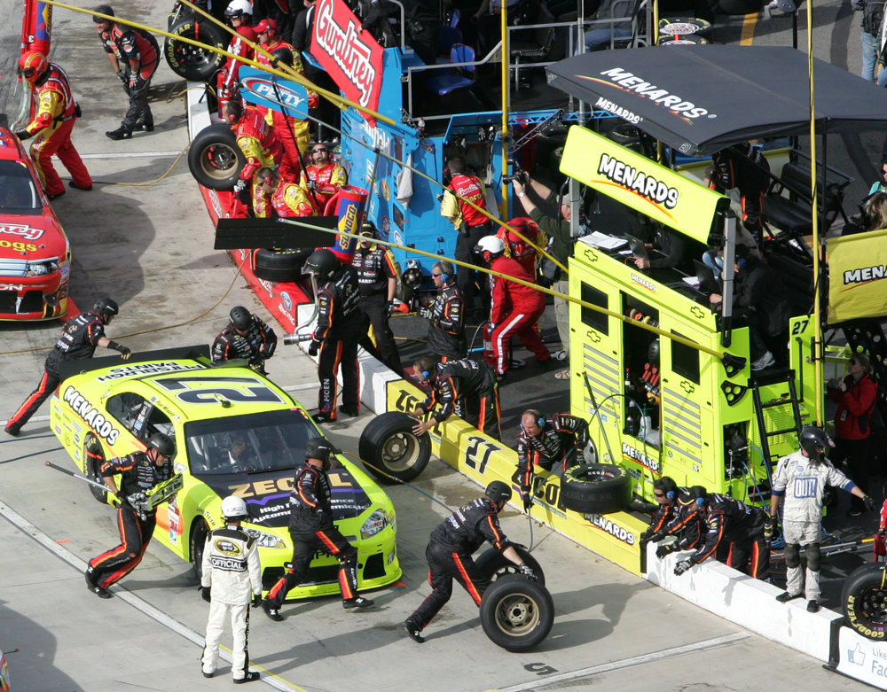 28 October 2012 -  Paul Menard during the TUMS Fast Relief 500 at Martinsville Speedway. (HHP/Christa L Thomas)