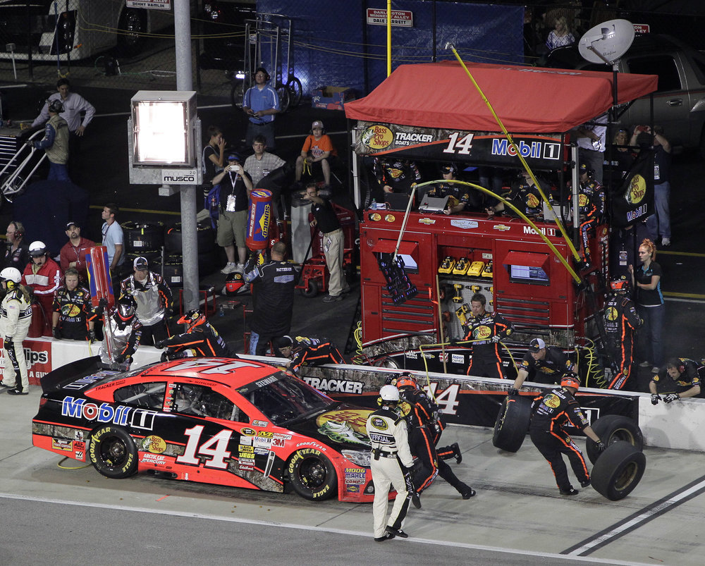 at Darlington Raceway in Darlington, South Carolina on May 11, 2013. Andrew Coppley/CIA Photo