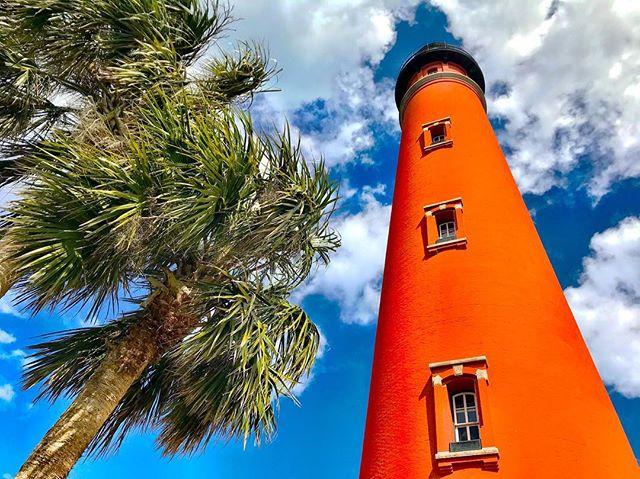 Ponce Inlet Lighthouse, Ponce Inlet, Florida. #daytonabeach #florida #lighthouse #uscg