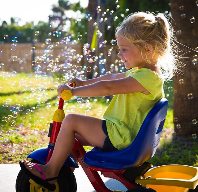 This is what summer is all about! #summer #childhoodunplugged #kids #florida #outdoors#bubbles #unplugged