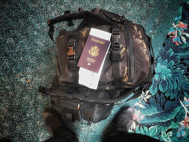 #tripleaughtdesign #fastpackScout with the Meridian Transport Case 40L is travel perfection. #edc #backpack #travel