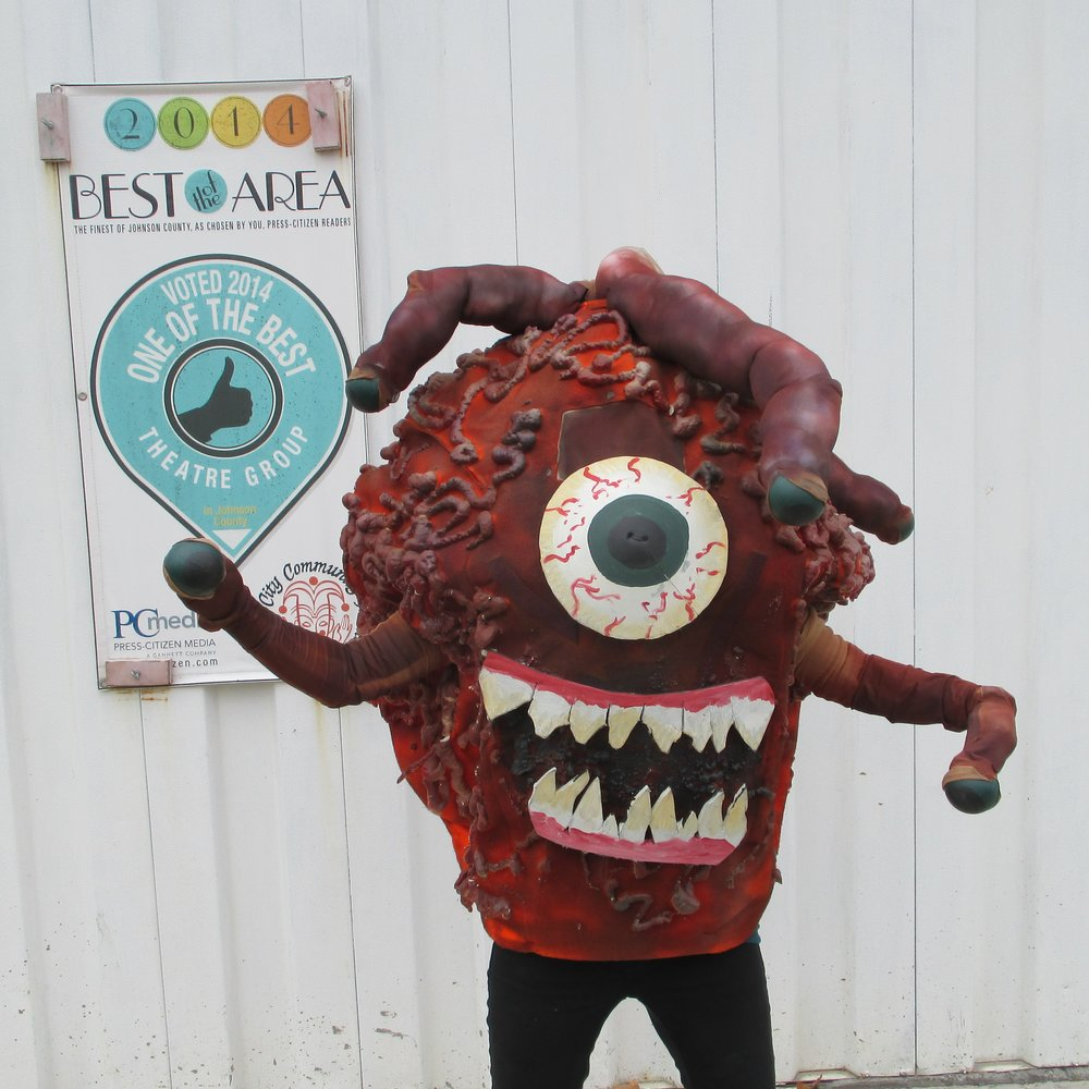 Vera the Beholder - easily the grossest and best thing I've ever made