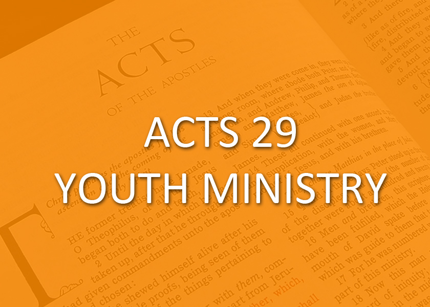 You are the next chapter! That is our motto for our ACTS 29 parish youth ministry, which seeks to encourage our junior high and high school age students in the faith. Various diocesan youth events, service projects, and regular parish gatherings help us to attain to that goal.
