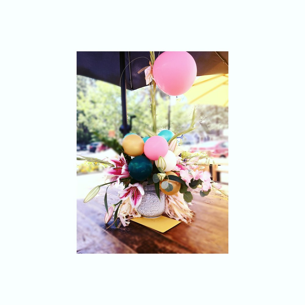 Balloons and Blooms - Lifted Balloons has a new way to elevate the atmosphere.