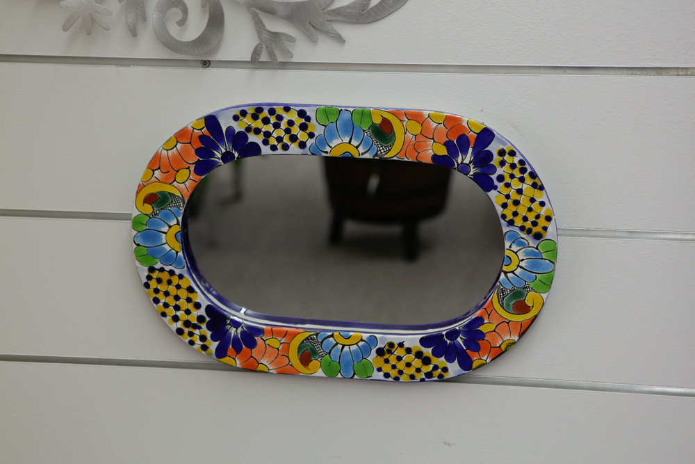 Handpainted Ceramic Mirror 2859.JPG