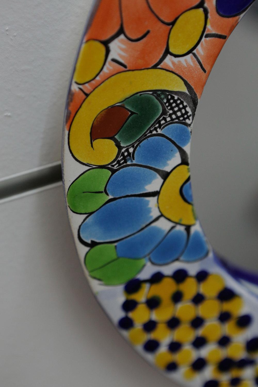 Handpainted Ceramic Mirror 2868.JPG