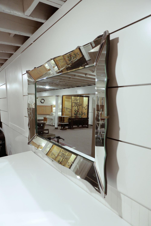 Large Art Deco Mirror