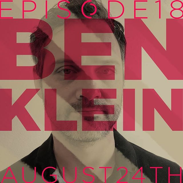 Episode 18 is available now wherever you get your podcasts. Listen to painter Ben Klein in conversation with @marxrw about his non-traditional trajectory in the arts. Thanks for listening! #interviewpodcast #artpodcast #montrealpodcast #montreal #montrealart #contemporaryart #contemporarypainting