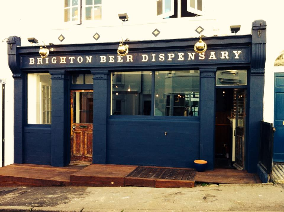 BRIGHTON BEER DISPENSARY |  BRIGHTON       https://www.facebook.com/BRTNDispensary     Good beer, good people. A small pub tucked away in the heart of Brighton ran by Southey Brewery and kitchen by Dizzy Gull