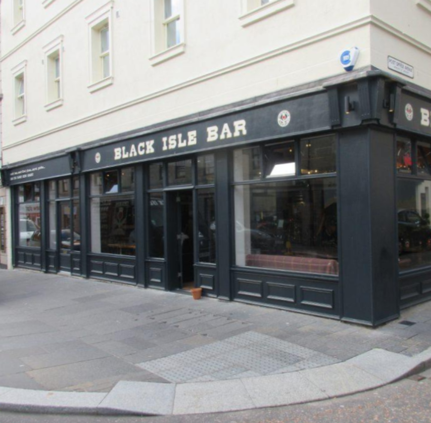 BLACK ISLE BAR |  INVERNESS       https://www.blackislebar.com/     The Highland capital's premier Craft beer bar - Our go-to bar whenever we're in town!