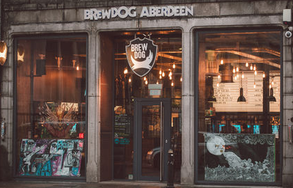 BREWDOG |  ABERDEEN   https://www.facebook.com/brewdogaberdeen/     Brewdog Flagship. The first bar where it all began. Recently refurbished.