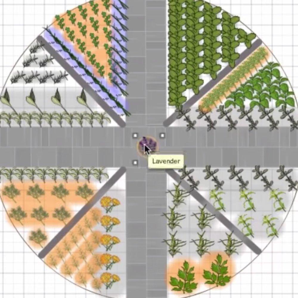 Herb Wheel Design -