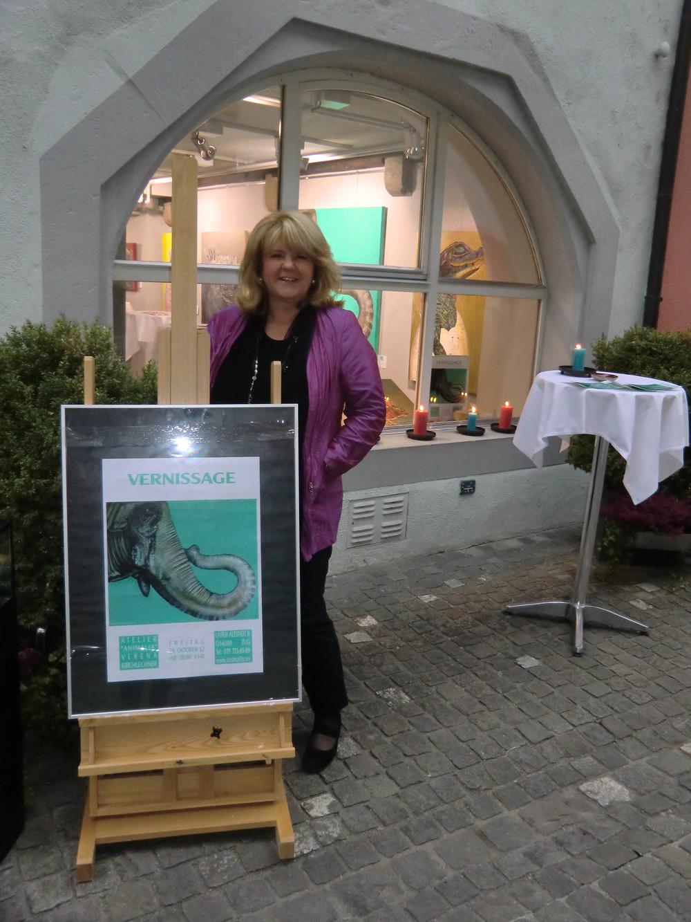 Dies ist mein ATELIER ANIMALIA in der Altstadt von Zug / Schweiz
