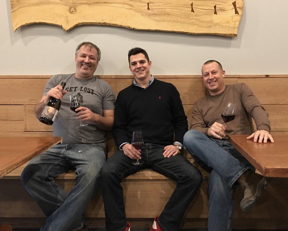 Co-owners Michael Killen, Blake Layne, and Dan Chaney