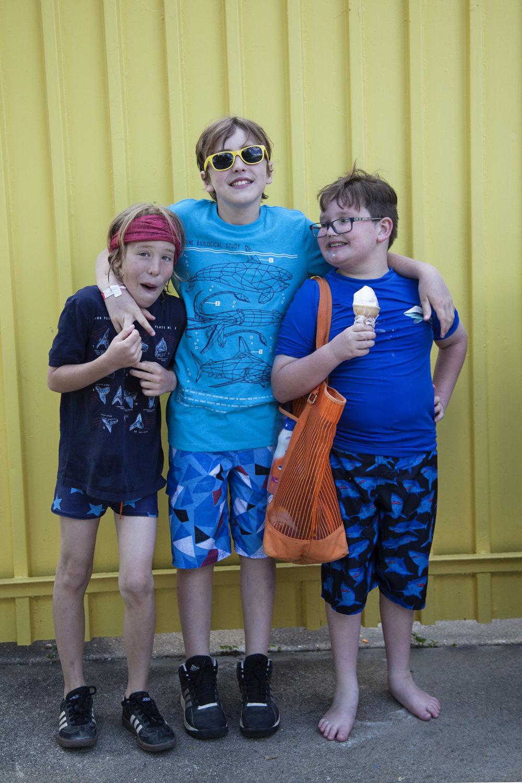 Day 9 - 3 amigos at Coney Island