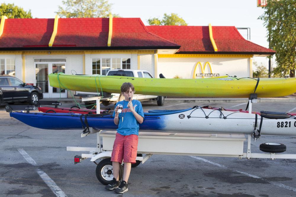Day 11 - new kayak!
